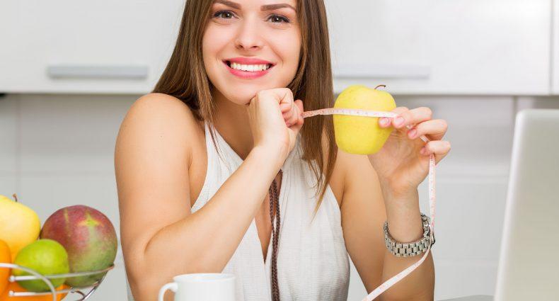dietetyczka z jabłkiem