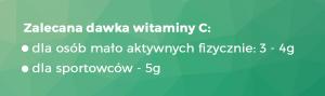 Zalecana dawka witaminy C