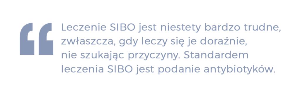 Leczenie SIBO