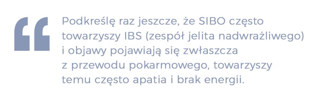 sibo IBS