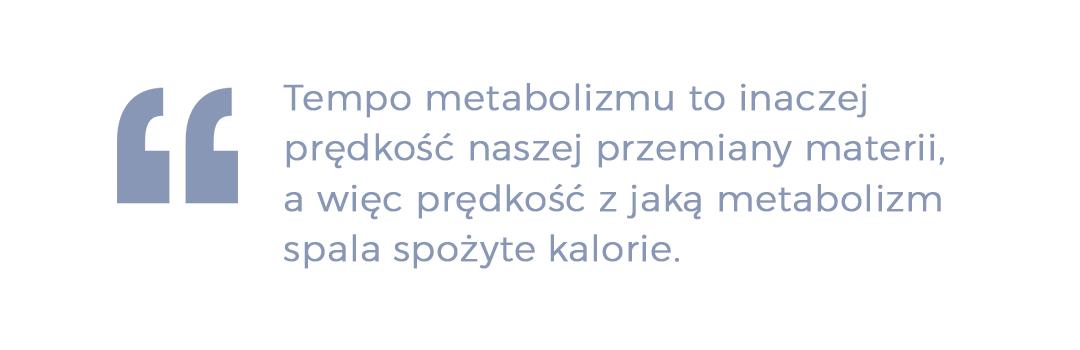 tempo metabolizmu