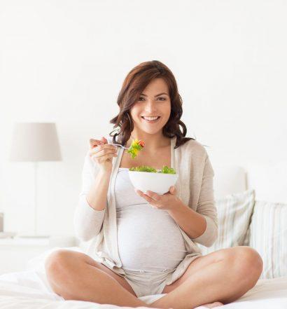 Dieta wegetariańska w ciąży