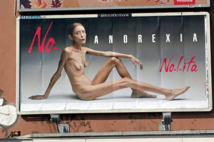 Isabelle Caro anoreksja
